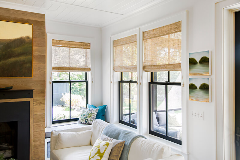 This Old House living room window nook with Marvin Windows