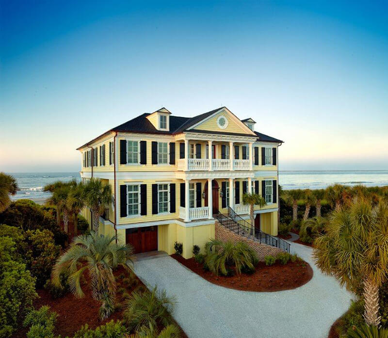 Large beach home with Marvin Windows and Doors