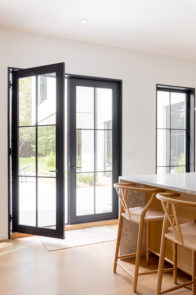 Marvin Signature Ultimate French Inswing door in black