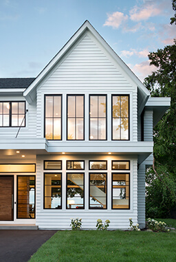 Traditional style home with Marvin Windows
