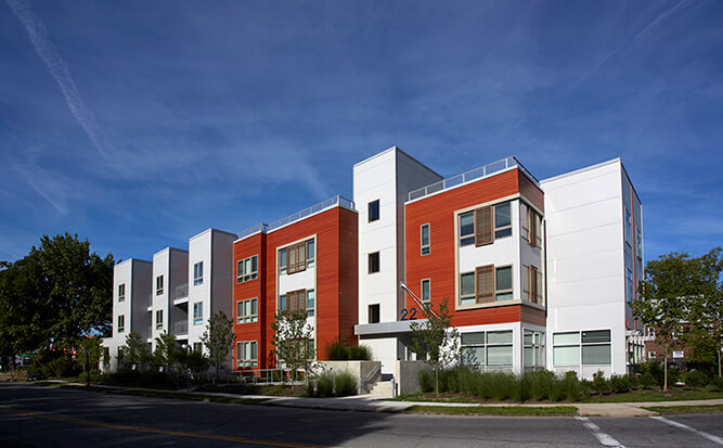 Residential housing complex with Marvin Windows