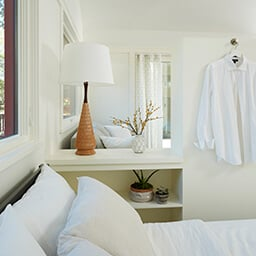Small bedroom with Marvin Windows