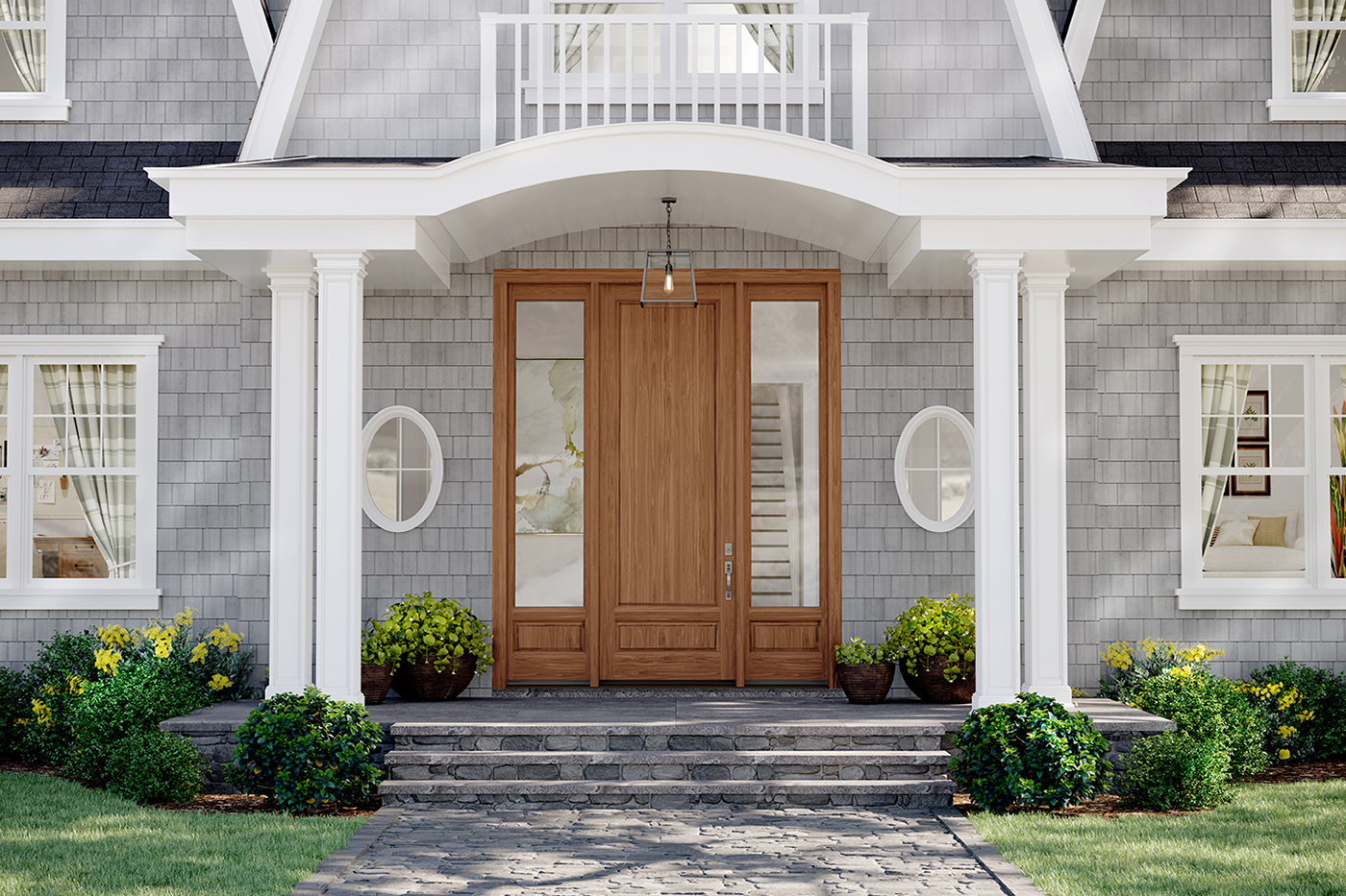 Sidelight Windows An Added Improvement To Your Home Marvin