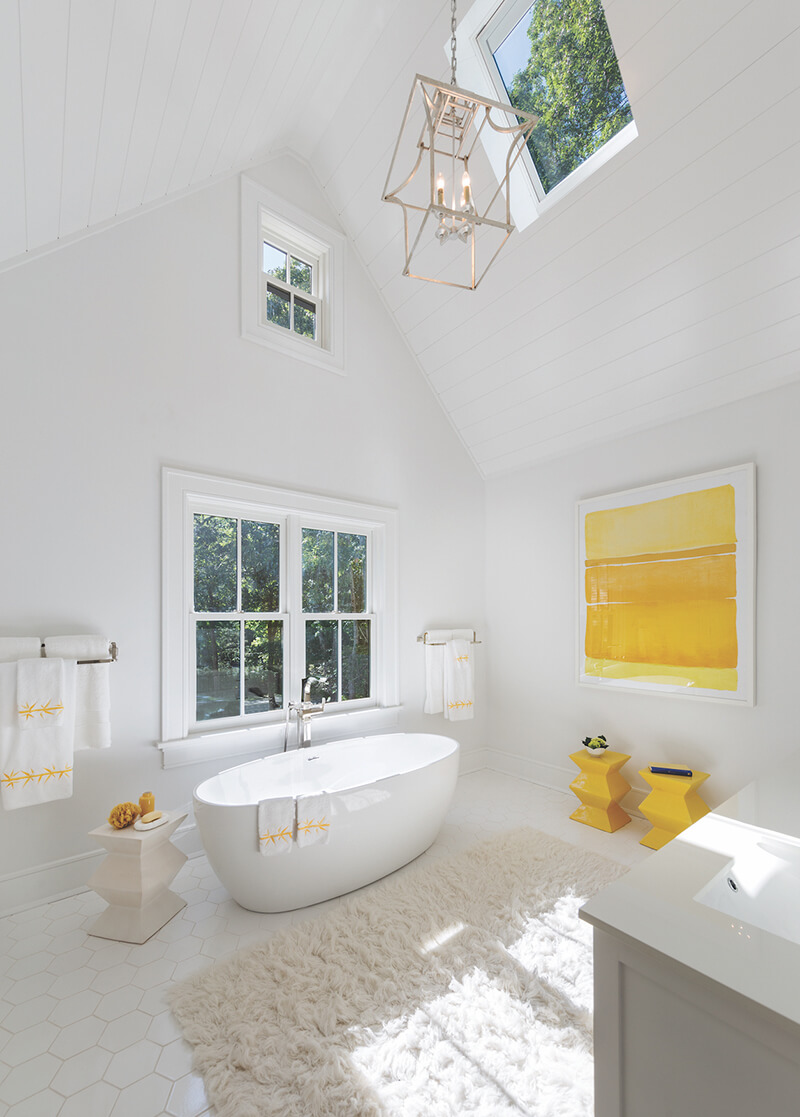 Bathroom with Marvin Ultimate Double Hung Windows