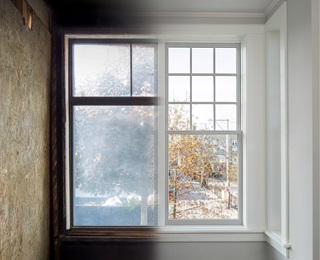 Before And After Photo Of Replacement Window