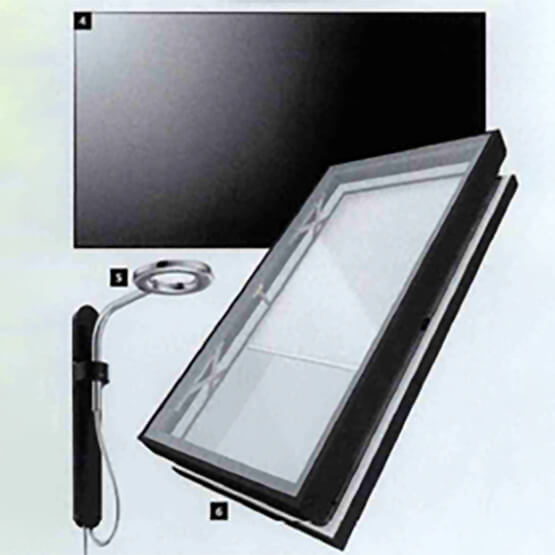 Collection of Energy Efficient products including the Marvin Awaken Skylight