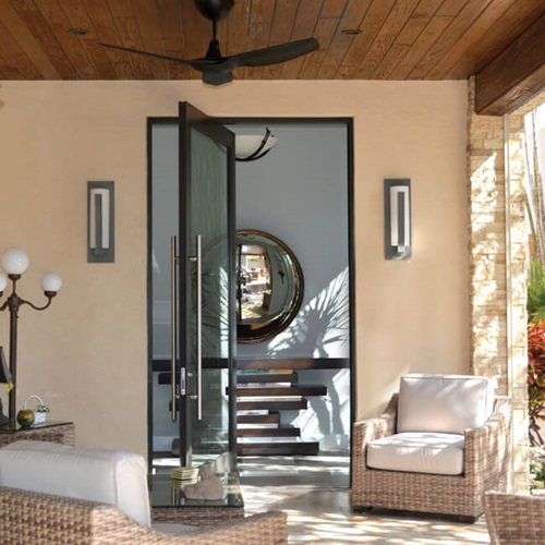 Marvin Coastline Outswing Pivot Door - Wohlwend