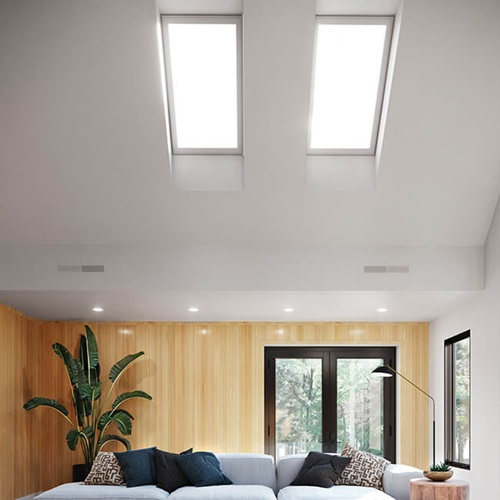 Interior of home with Marvin Awaken Skylights