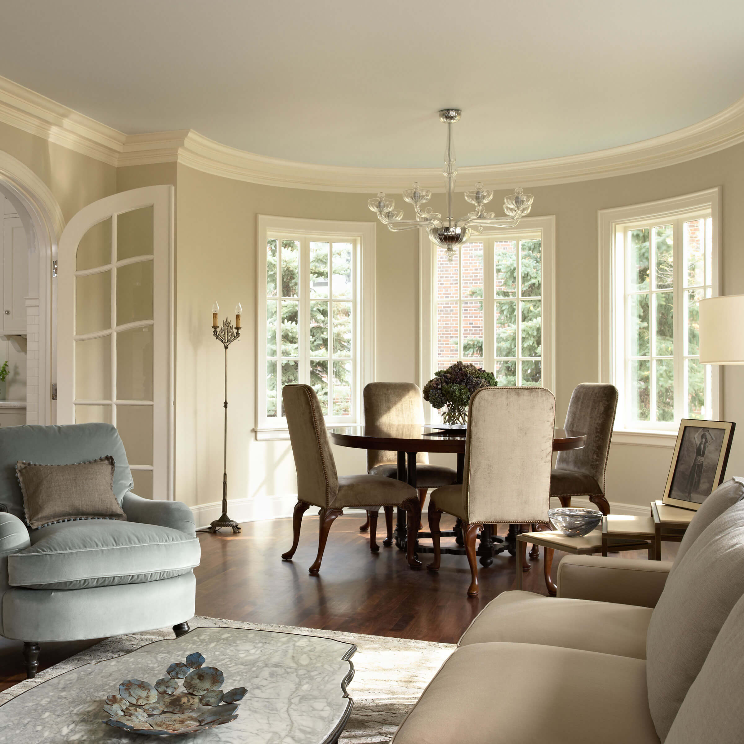 Living Room With Ultimate Windows