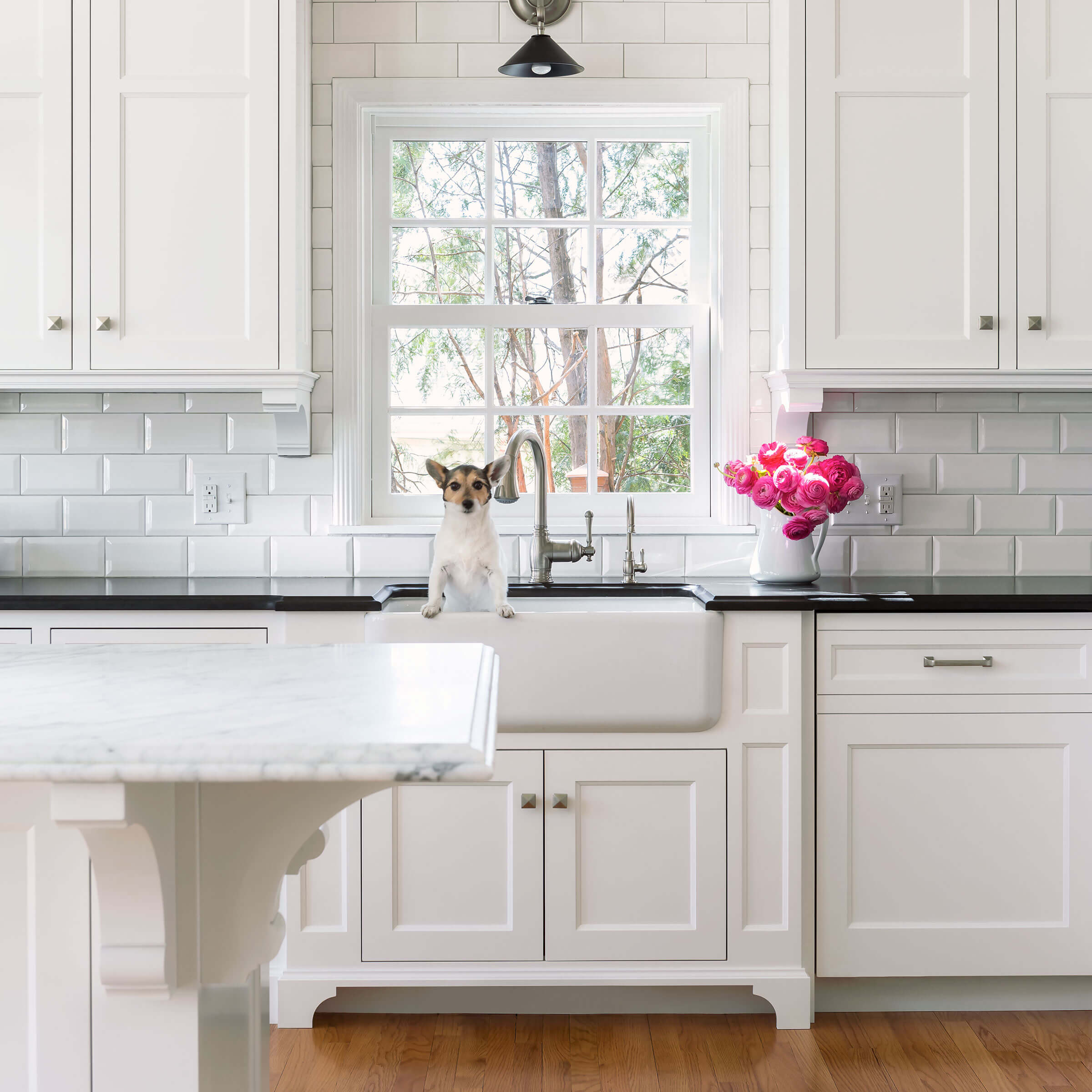 White Kitchen With Signature Ultimate Double Hung G2 Window