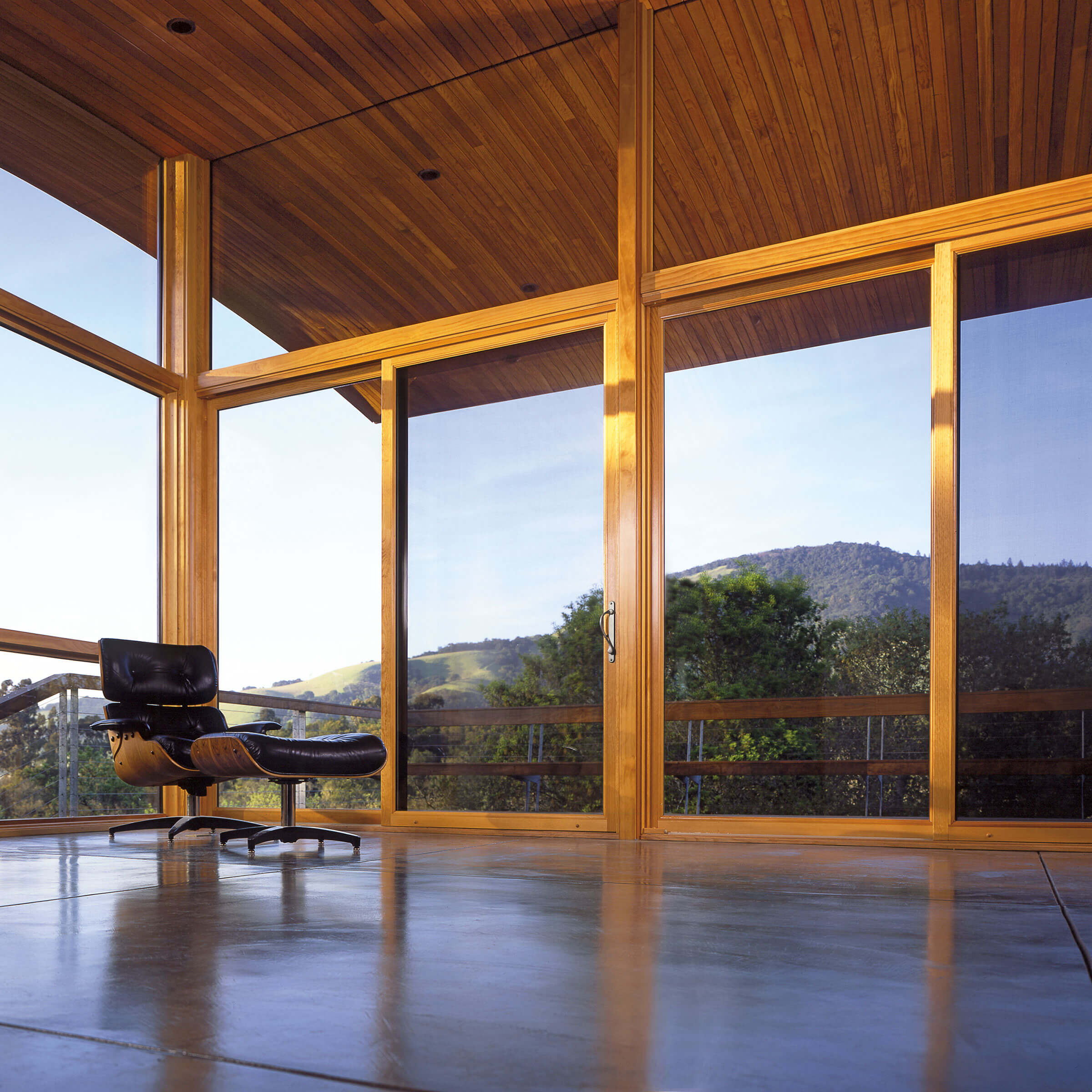 Expansive Outside View Through Signature Ultimate Sliding Patio Door