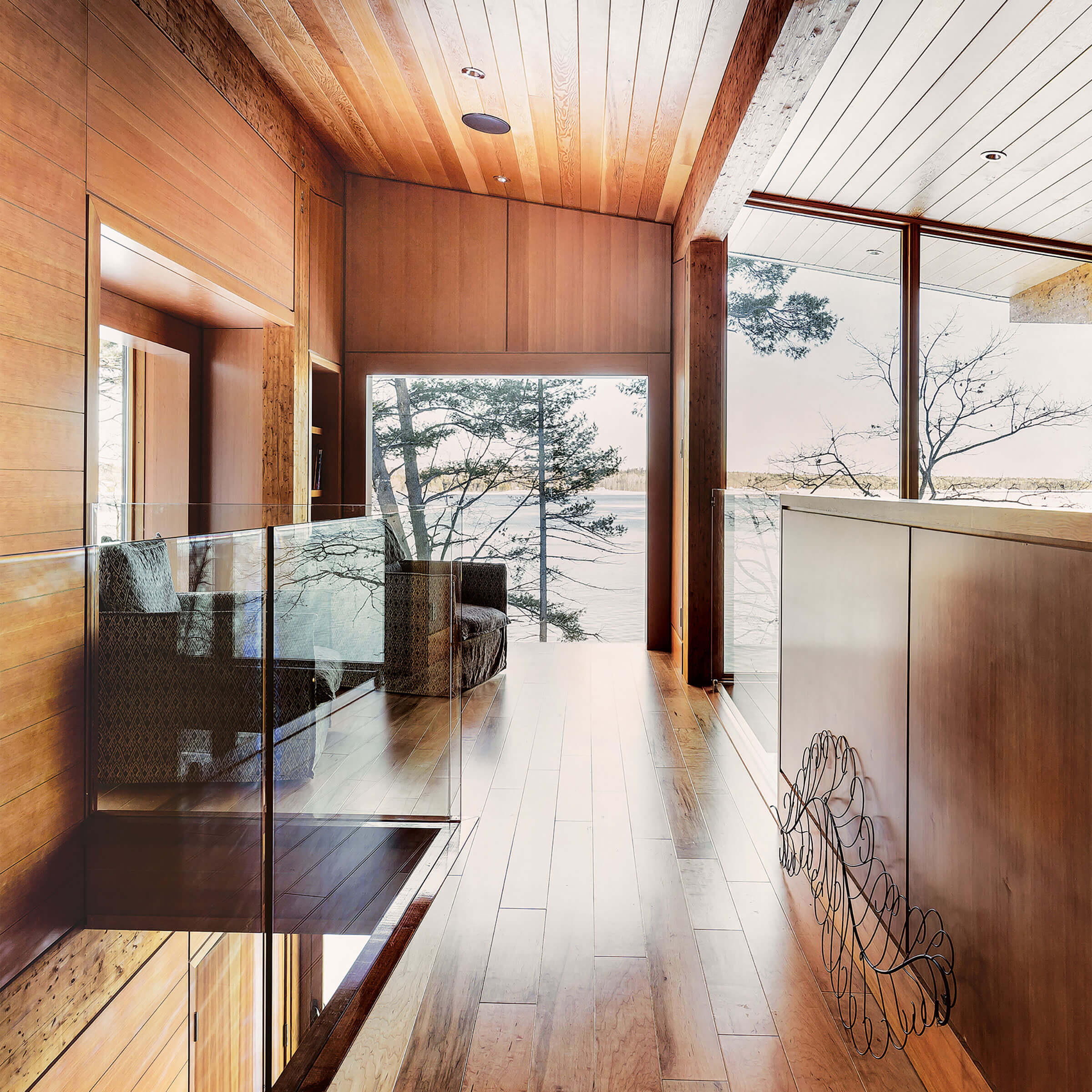 Interior View Of House With Signature Ultimate Specialty Shapes Windows
