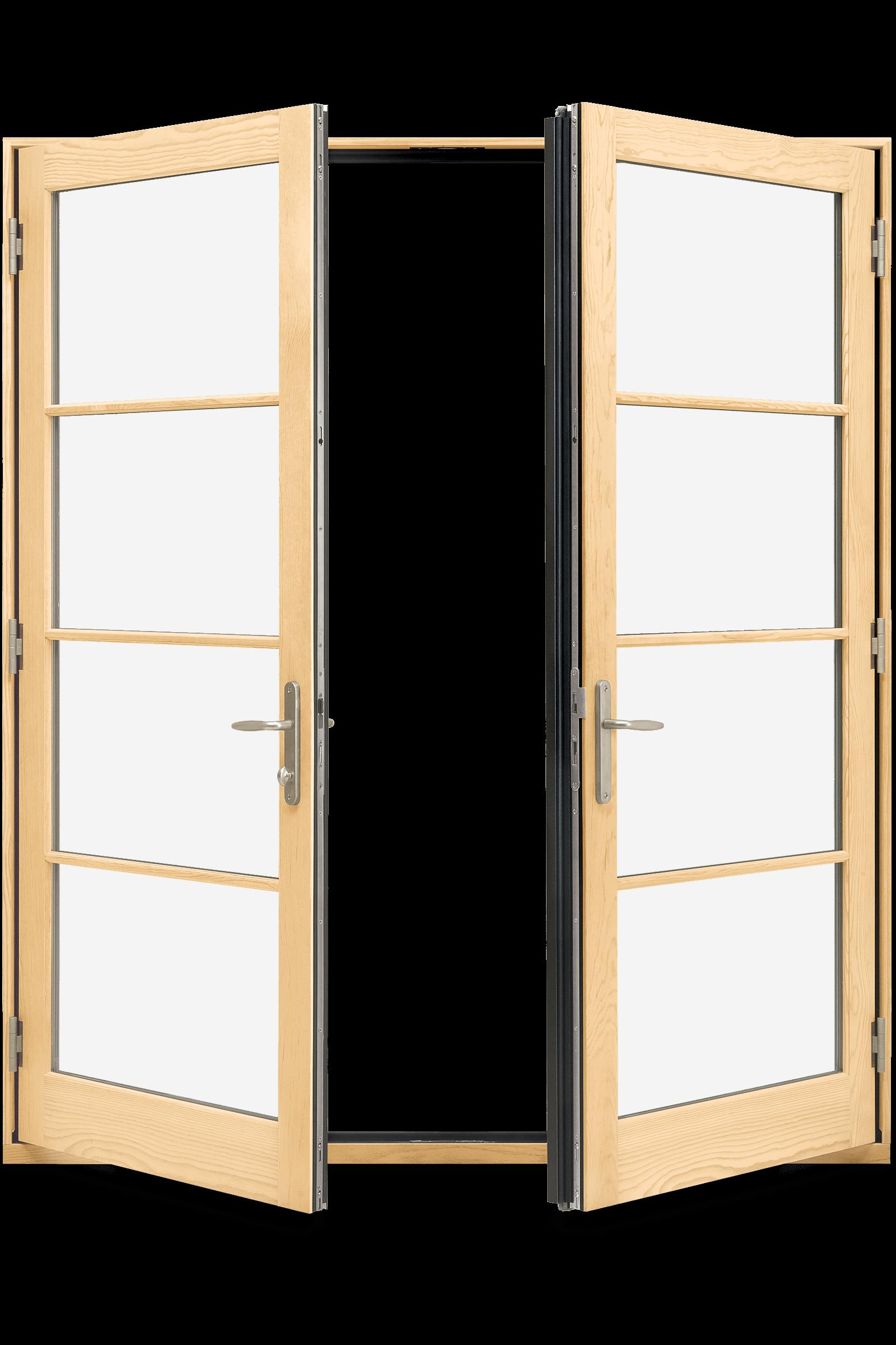 Wood Fibergl Inswing Outswing French Doors Elevate Swinging