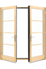 Marvin Elevate Inswing French Door Interior View