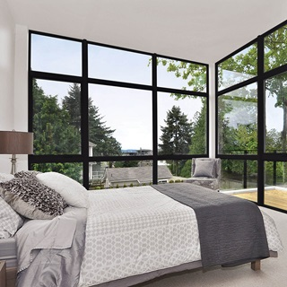 mMarvin essential collection windows installed in bedroom