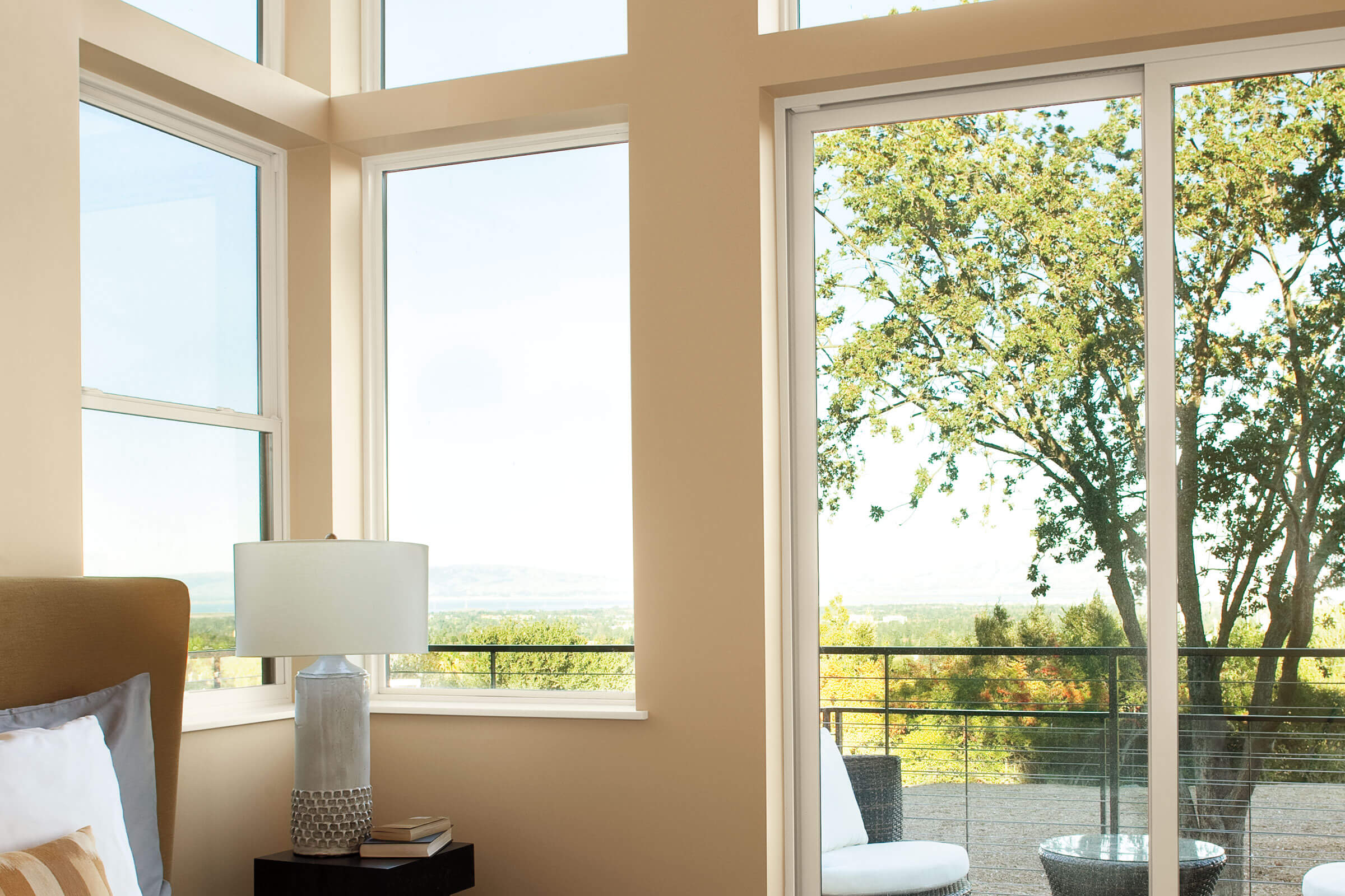 Sunny Room With View Through Marvin Essential Single Hung Window