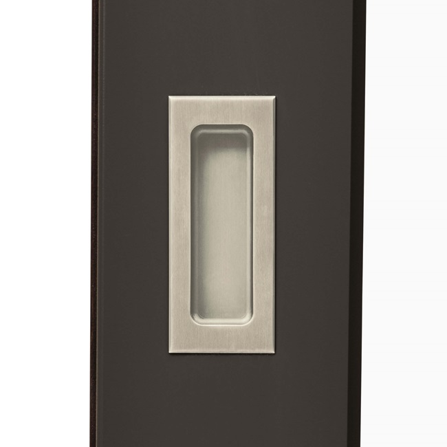 Exterior Pull Hardware Satin Nickel PVD