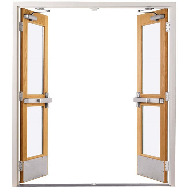 Commercial Door Removable Mullion