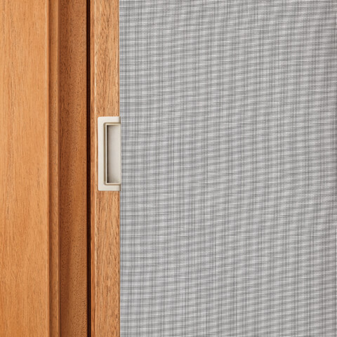 Casement Retractable Screen Close Up