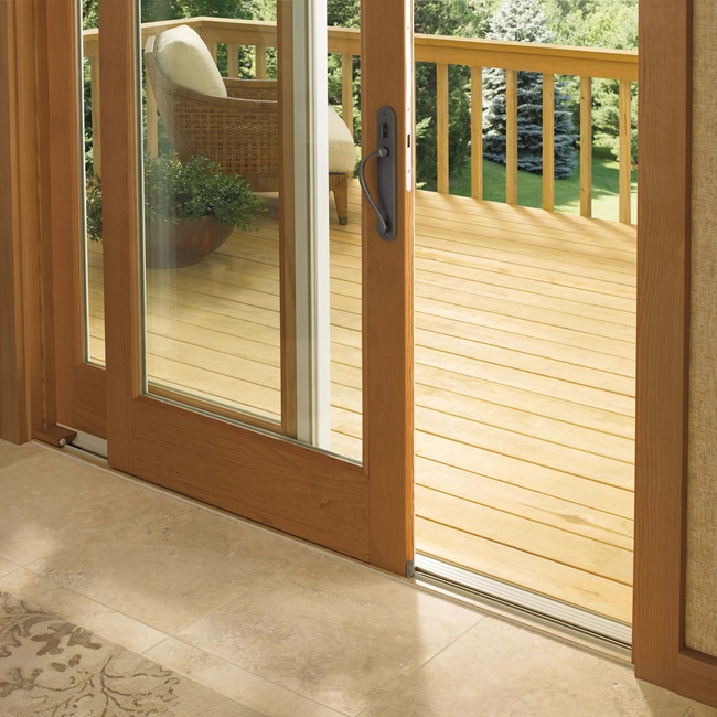 Sliding French Door Low Profile Sill