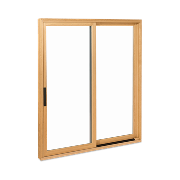 Signature Ultimate Sliding Patio Door With Contemporary Handle Interior View