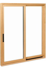 Signature Ultimate Sliding Patio Door Interior View With Contemporary Handle