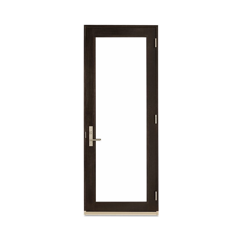Signature Ultimate Inswing French Door Interior View In Espresso Stain