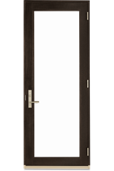 Signature Ultimate Swinging French Door Interior View In Espresso Stain