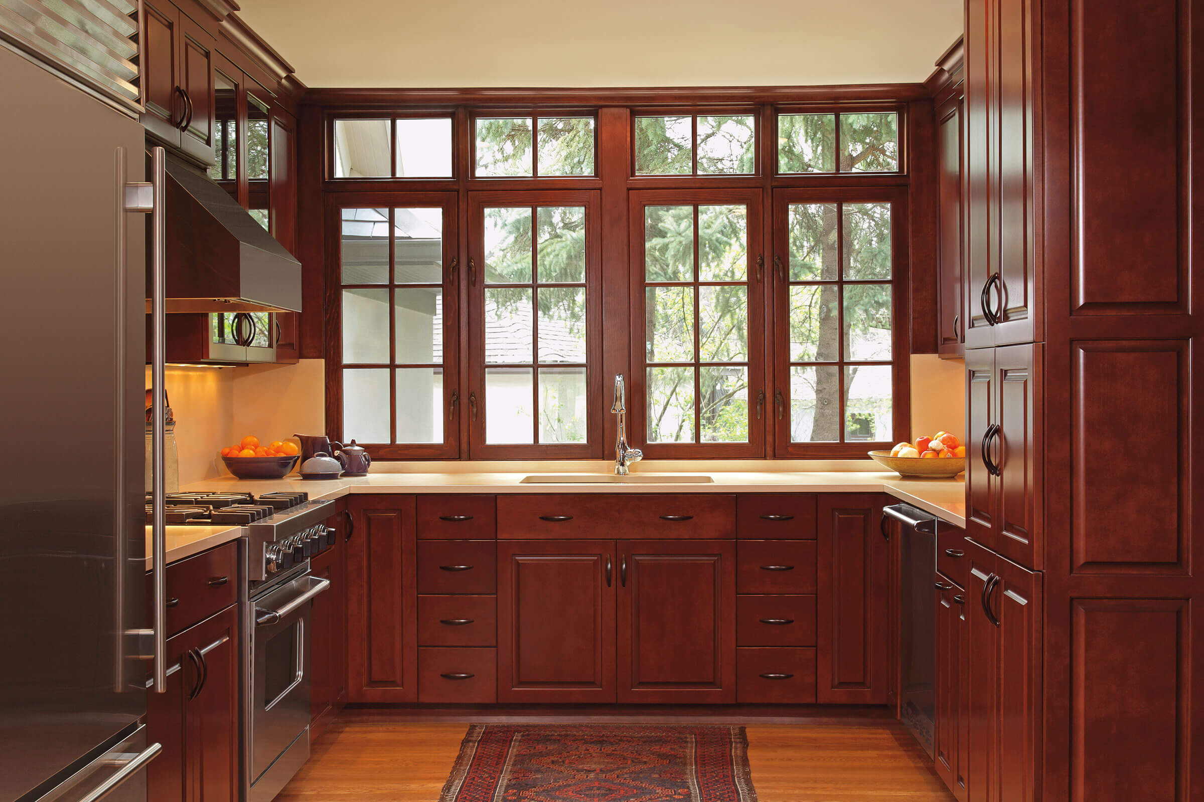 Kitchen With Signature Ultimate Casement Inswing Window
