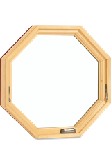 Signature Ultimate Specialty Shape Octagon Window Interior View