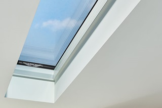 Marvin Awaken vented skylight that opens on all sides