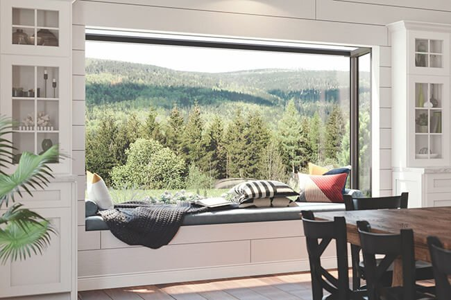 Marvin Spaces Skycove Interior Glass Design Option