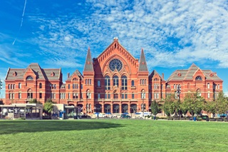 Cincinnati Music Hall with Marvin Windows and Doors - Historic Design Solutions