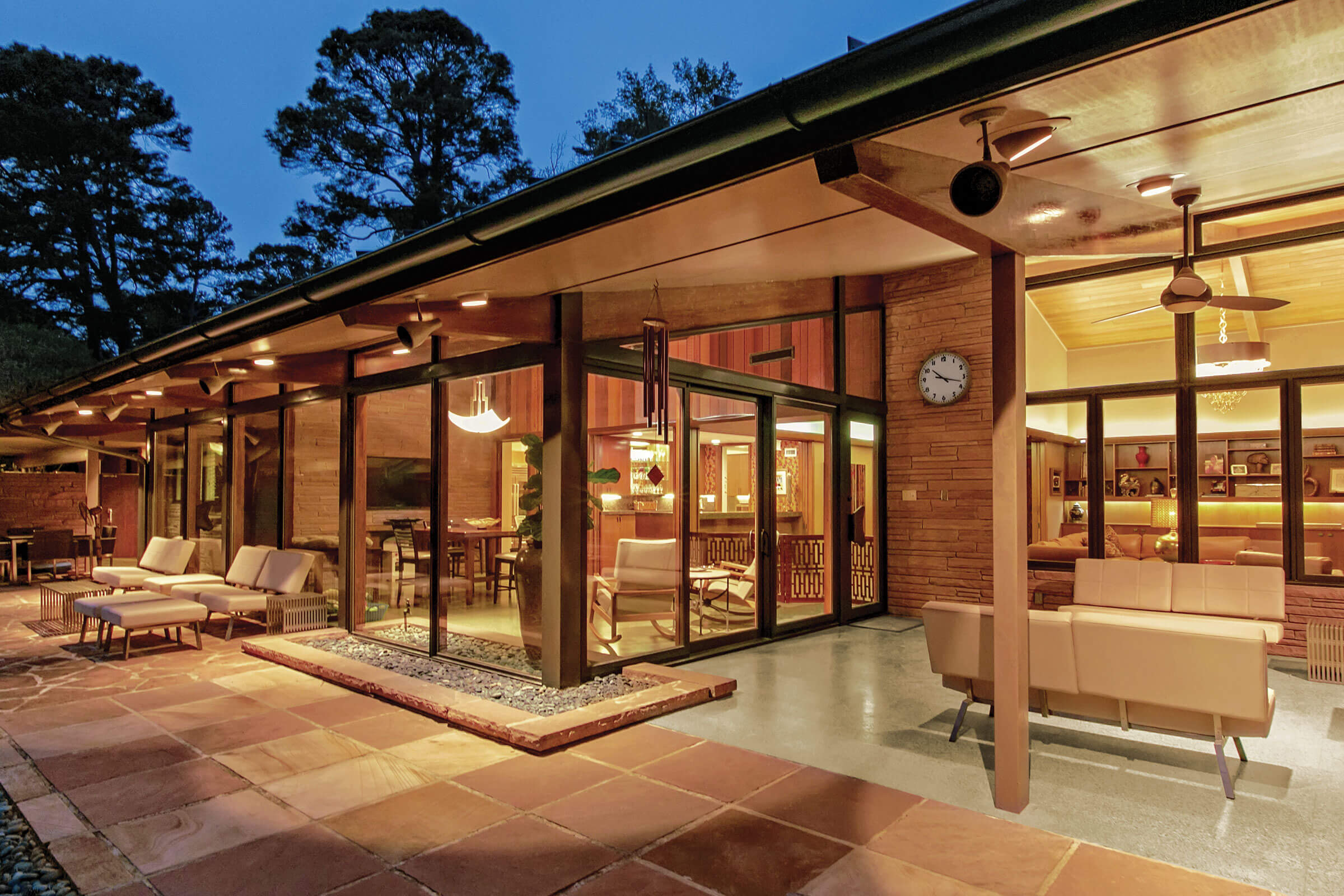 Exterior View Of Home With Ultimate Swinging French Door