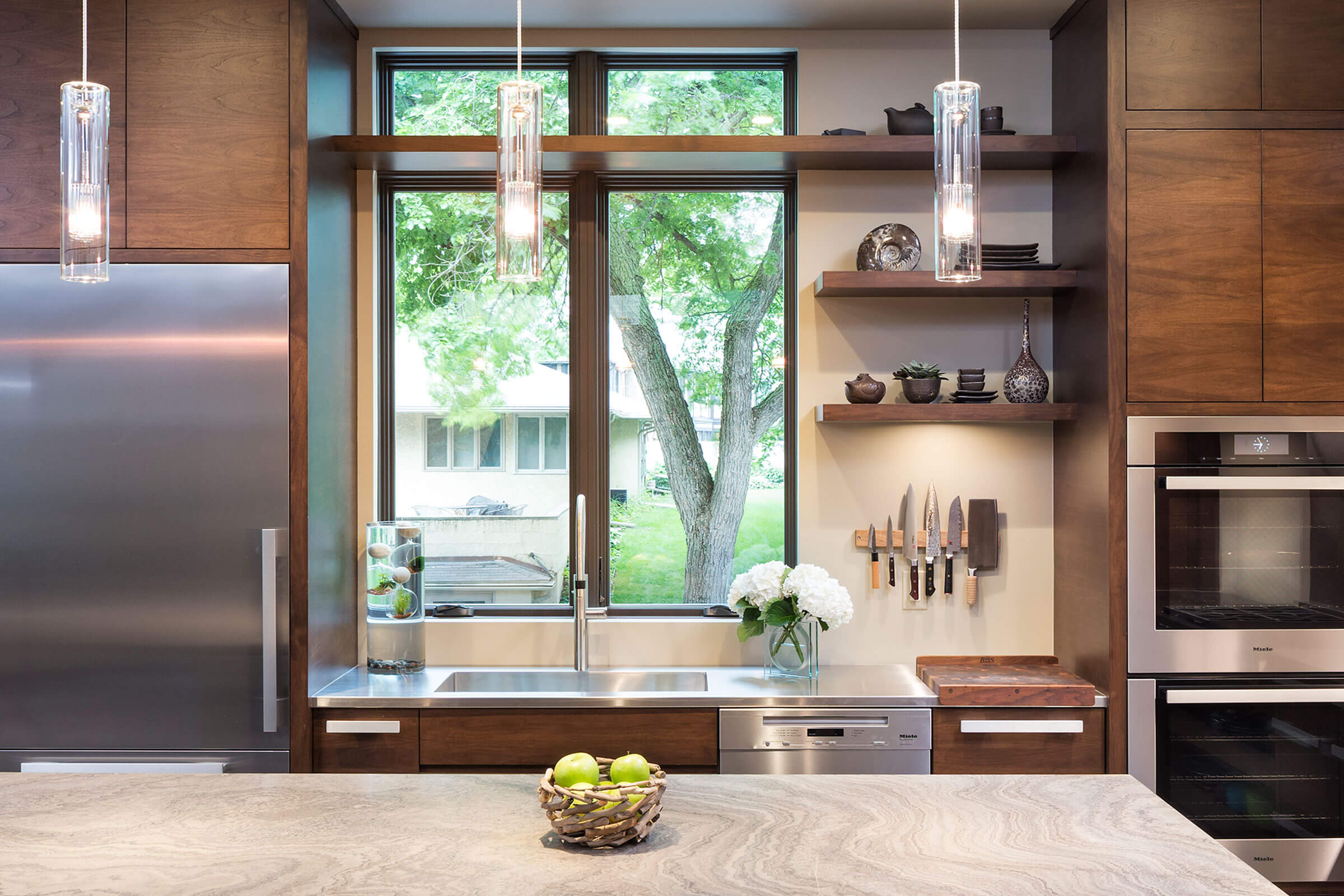 Kitchen With Elevate Casement And Elevate Awning Windows