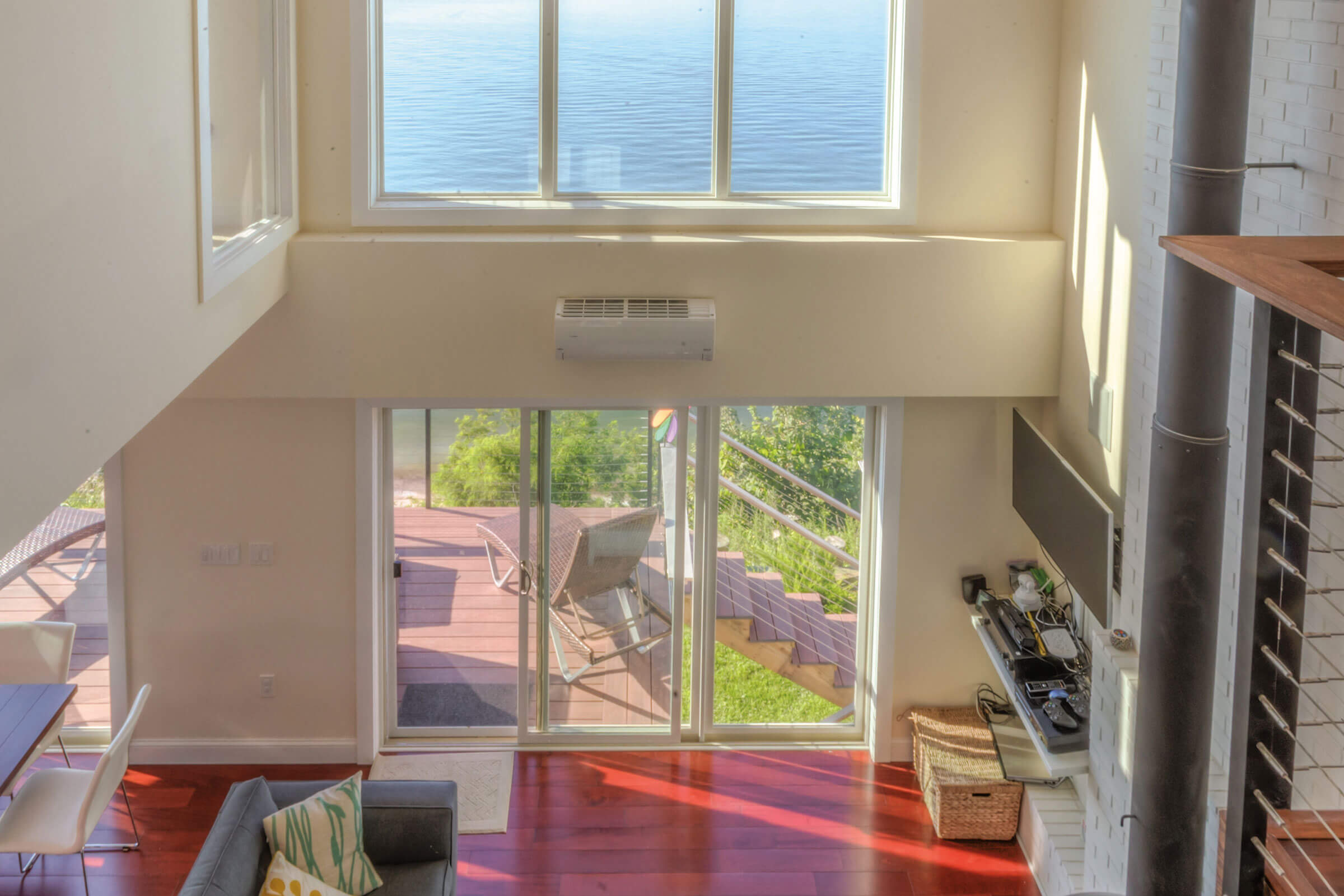 Ocean View House With Essential Sliding Patio Door