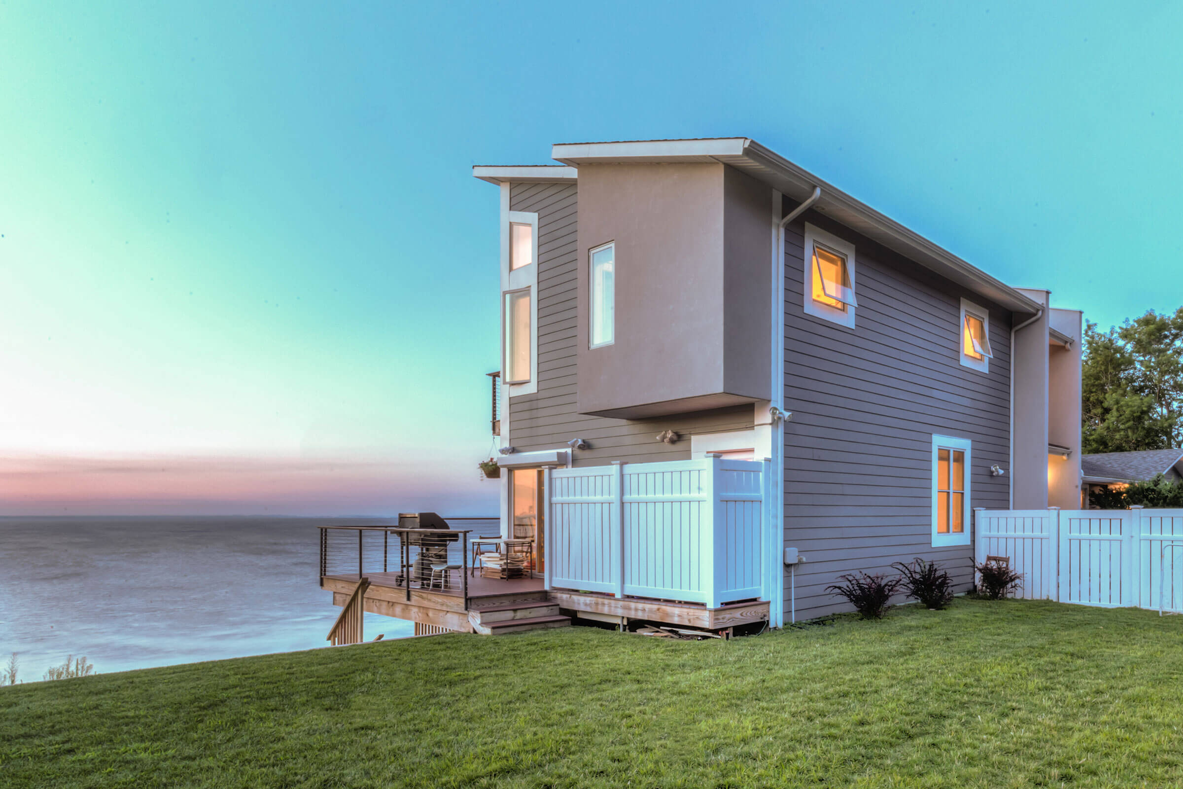 Beach House With Essential Casement And Essential Awning Windows