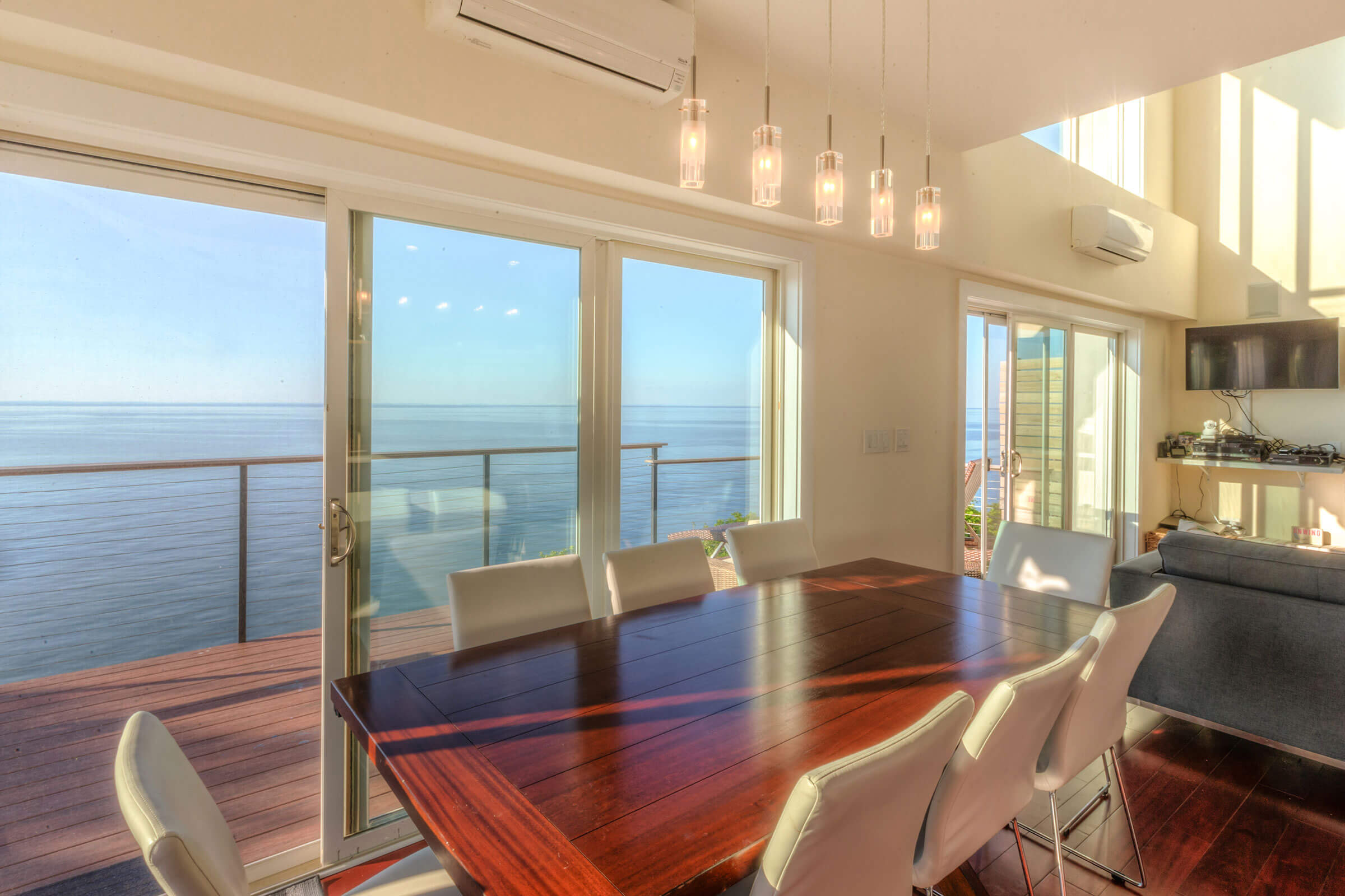 Ocean View Home With Essential Sliding Patio Door