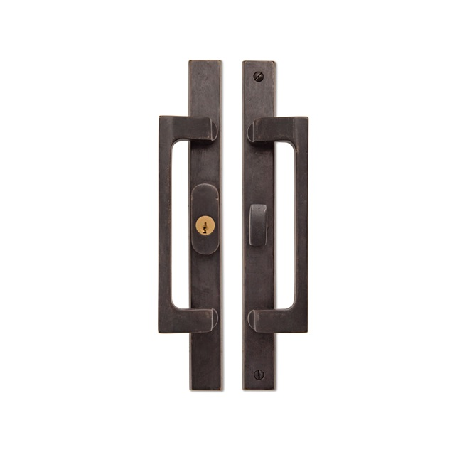 Rectangular Dunn Pull Dark Bronze