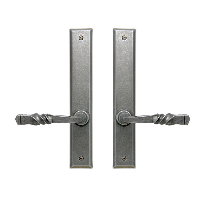 Rectangular Twisted 1055 Pewter