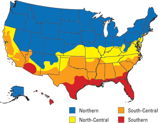 Energy Efficiency Map Of United States