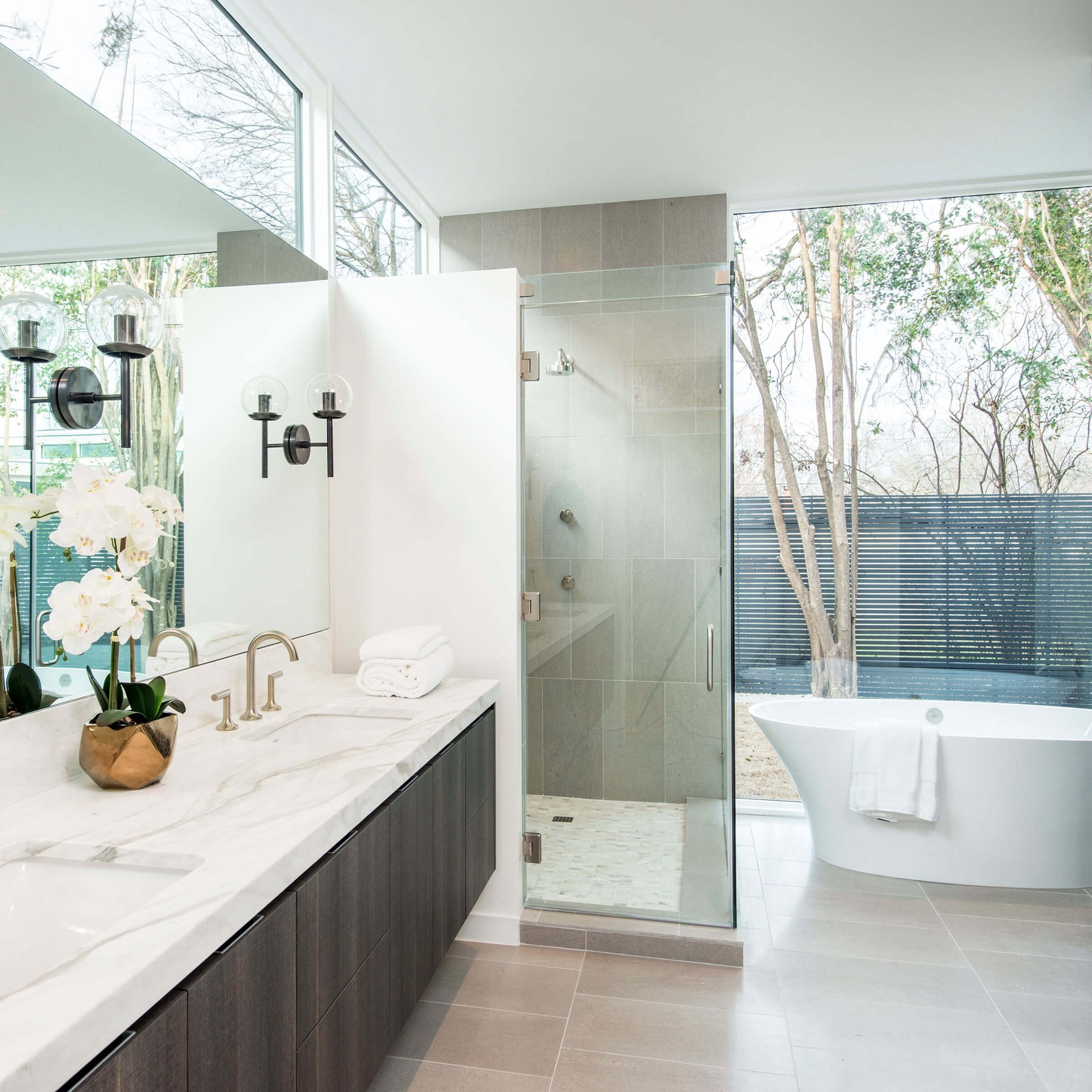 Contemporary Bathroom With Ultimate Windows