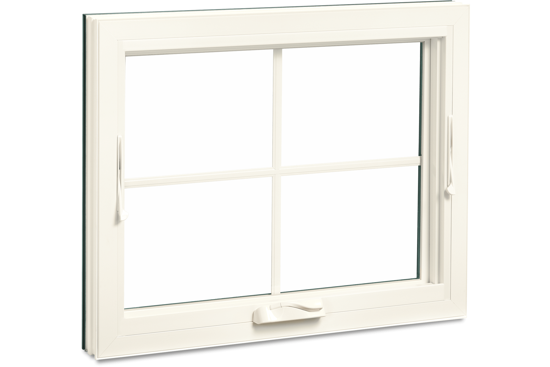 Marvin Essential Awning Window Interior View In Stone White