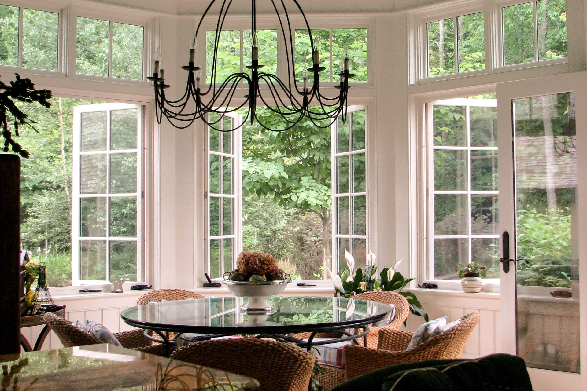 Dining Room With Signature Ultimate French Casement Windows